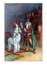 Magician and Snoopwiggy (Weird & Wonderful Greeting Cards)