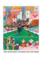 Fantastical Baseball Game (Weird & Wonderful Greeting Cards)