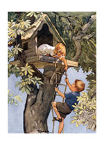 Welcome to My Treehouse! (Children's Playtime Children Art Prints)