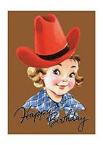Happy Birthday Cowgirl! (Birthday Greeting Cards)