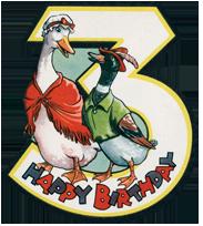 Duck & Goose Talking - 3rd Birthday