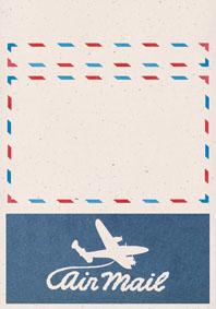 Swirly Aeroplane Cream