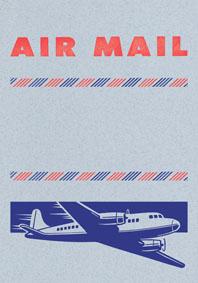 Big Old Jet Airliner Blue
