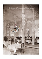 Acrobat in Dining Room (Encouragement Art Prints)