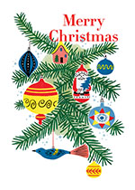Christmas Ornaments (Many More Christmas Greeting Cards)