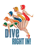 Lady Divers (Women Art Prints)