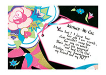 Mother - My Gal - Poem with Gift Tag (Mother's Day Greeting Cards)