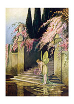 Fairy With Crystal Orb (Ida R. Outhwaite Fairies Greeting Cards)