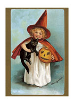 Little Witch (Classic Halloween Art Prints)
