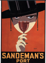 Sandeman's Port (Wine and Spirits Art Prints)