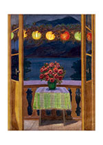 Lanterns and Flowers (Home & Hearth Art Prints)