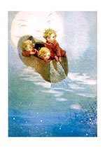 Dream Fishers (Encouragement Greeting Cards)