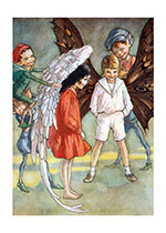 I send you wings ... Fly! (Encouragement Greeting Cards)