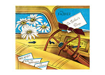 To Father On Father's Day (Father's Day Greeting Cards)