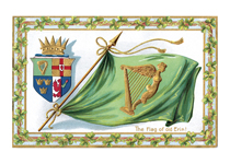 Flag of Old Erin (St. Patrick's Day Greeting Cards)