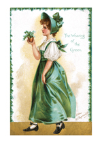 The Wearing of the Green (St. Patrick's Day Greeting Cards)