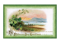 A View of Killarney (St. Patrick's Day Greeting Cards)