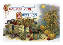 Thanksgiving Abundance (Thanksgiving Greeting Cards)