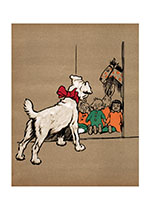 The Puppy Has Found the Toy Cupboard (Cecil Aldin Dog Fun Animals Greeting Cards)
