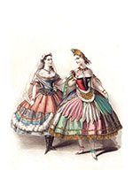 French Women's Costumes (Celebration Art Prints)