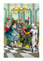 At the Costume Ball:  Shall We Dance? (Celebration Greeting Cards)