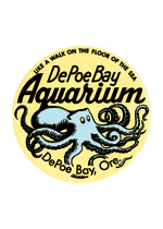 Depot Bay Aquarium Travel Label