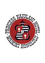 Princess Kaiulani Hotel Luggage Label