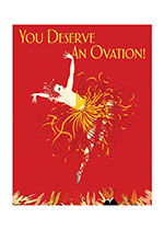 Fire Dancer (Congratulations Greeting Cards)