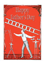 Circus Performer (Father's Day Greeting Cards)