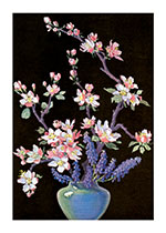Vase of Flowering Branches (Flowers Art Prints)
