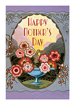 Art Nouveau Perfume Label (Mother's Day Greeting Cards)
