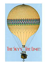 Hot Air Balloon (Encouragement Art Prints)