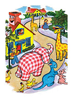 Happy Animals Village (Encouragement Greeting Cards)