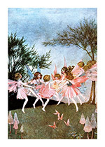 Dancing Fairy Circle (Fairyland Fairies Art Prints)