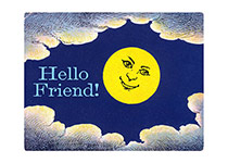 Smiling Moon (Friendship Greeting Cards)