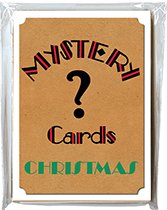 Mystery Card Pack - Christmas