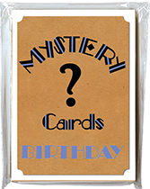 Mystery Card Pack - Birthday (Birthday Packaged and Boxed Greeting Cards)
