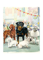 Carl at the Dog Show (Good Dog, Carl Greeting Cards)
