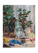 Carl & Madeleine Christmas Decorating (Good Dog, Carl Art Prints)