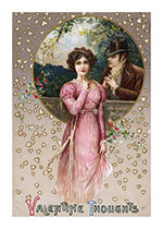 A Gentleman Pleading His Cause (Victorian Valentine's Day Greeting Cards)