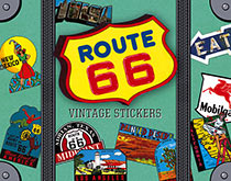 Route 66 Travel Labels
