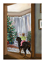 See the Christmas Tree, Carl! (Signed) (Good Dog, Carl Art Prints)