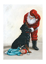 A Christmas Present for Carl (Good Dog, Carl Greeting Cards)