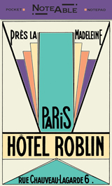 Hotel Roblin Notepad (Pocket Notebooks)