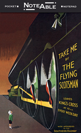 Flying Scotsman Notepad (Pocket Notebooks)