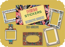 Decorative Border Sticker Pack (Everyday Stickers)