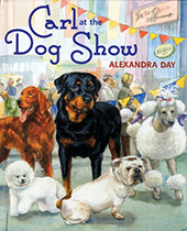 Carl at the Dog Show (Signed)-SOLD RETAIL ONLY