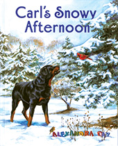 Carl's Snowy Afternoon (Signed)-SOLD RETAIL ONLY