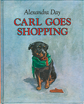 Carl Goes Shopping (Signed)-SOLD RETAIL ONLY (Good Dog, Carl Books)