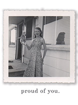 Proud of You (Encouragement Greeting Cards)